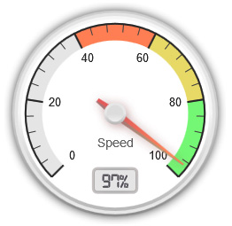 Fast websites are an art and science to create.  For us, there is nothing better than seeing how our websites rank on speed tests!